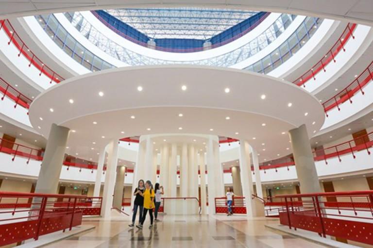 Một góc tại Đại học Kinh tế Quốc dân
