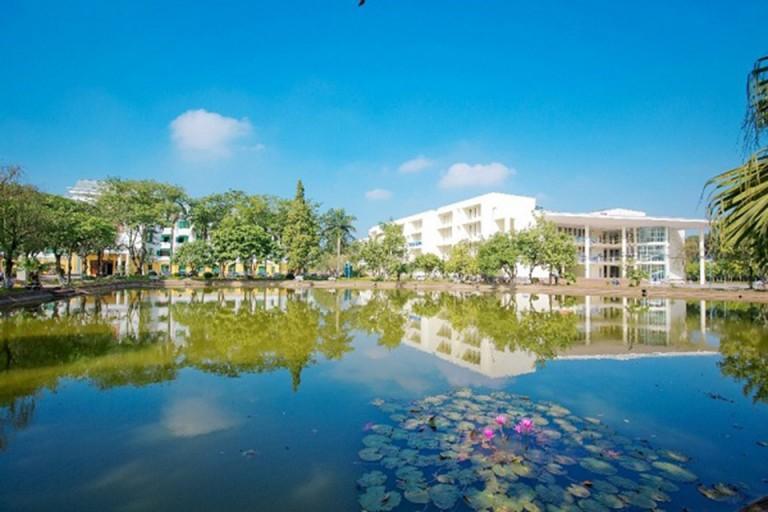 Một góc tại Đại học Nông Nghiệp